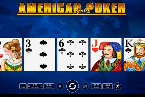 american poker gold wazdan