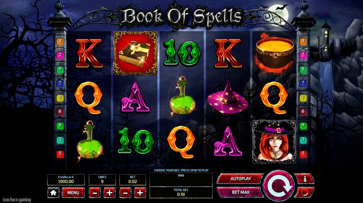 book of spells tom horn