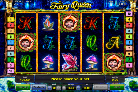 fairy queen novomatic